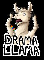 Drama Llama by KTechnicolour