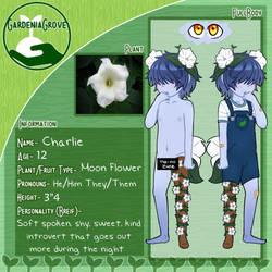.: Artwork :. Gardenia OC: Charlie by GhostlyMarie