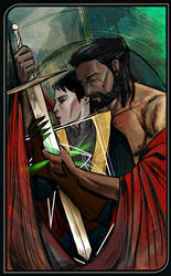 Her Sword is His Shield by ximena07