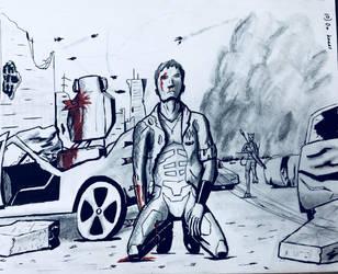 Cosmic Sketchaways (10/40) (blood warning) by Tikaaniwicker4