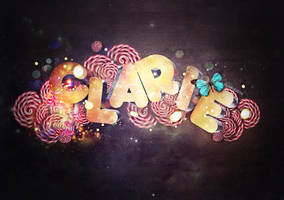 Clarie Typo by Electic-Razor