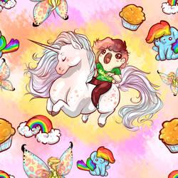 Rainbows by TwoSidedViolet