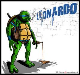 TMNT: Leonardo by MrGraze