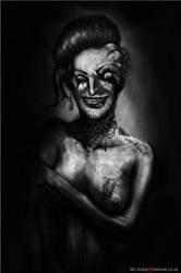 Diseased Prostitute Closeup by MrGraze