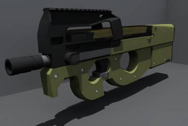 FN P90 Render by TechieV2