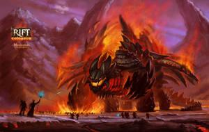 Burning Lord by MironishiN