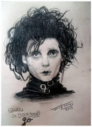 Edward scissorhands drawing by kireji00