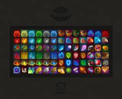 MANA.icons by tsynali