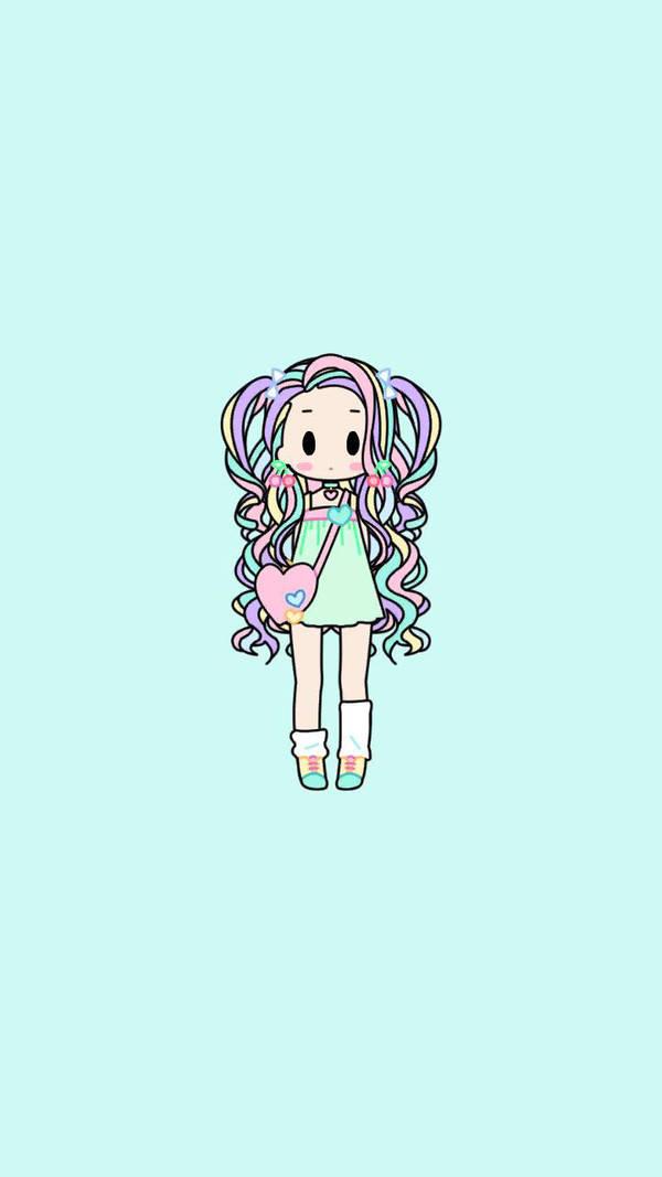 chibi girl 01 by Onpuccia