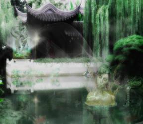 Kodama Tree Spirit by BadAssSpartaSpawn