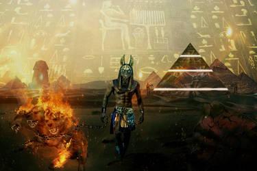 Anubis- The Jackal God by BadAssSpartaSpawn