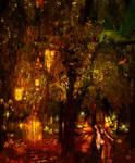 Autumnal Fairy Forest by BadAssSpartaSpawn
