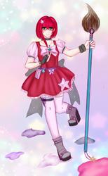 Magical Girl Challenge by Luna-Alkhemia