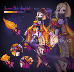 Kimono Witch adoptable #45 [closed ty!!] by PuddingzZ
