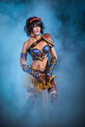 Battle Princess Snow White cosplay by PruskaJackson