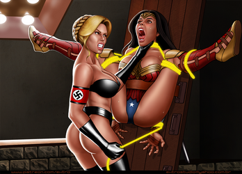 Patreon: Fausta The Nazi Wonder Woman by extro
