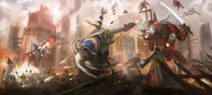 Battle for Leo V by artofrussell