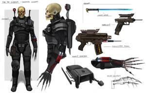 Eversor Assassin Concept by artofrussell