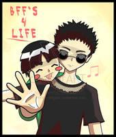 BFF's 4 Life by bebe--dragon by bug-masta
