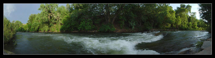 180 Degrees of Clear Creek by powowcow