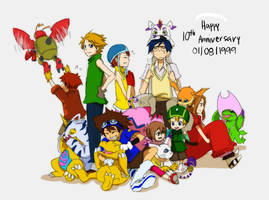 Happy 10th anniversary by ryo-hakkai