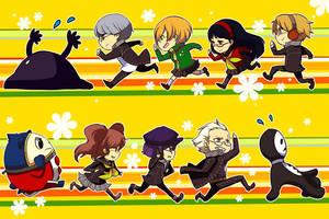 Persona 4 bookmarks by ryo-hakkai