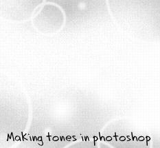 Tones in photoshop by ryo-hakkai