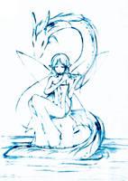 The Dragon Piper by ryo-hakkai