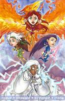 X-Women Minis by cirgy
