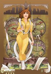 April O'Neil by cirgy