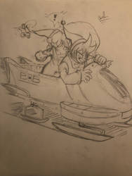 Sleigh ride by CarltheAmateur