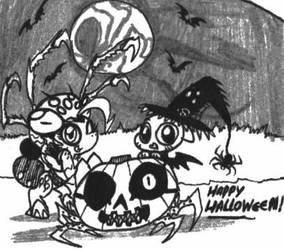 Happy Halloween 2013 by Kainsword-Kaijin