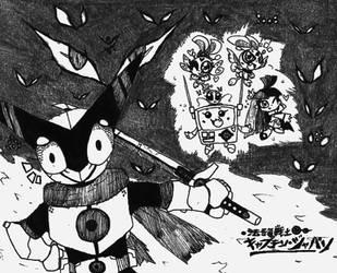 Seigi no Senshi Captain-Japan poster by Kainsword-Kaijin