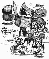 The Unikitty Gang^w^ by Kainsword-Kaijin