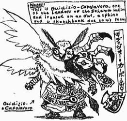 [Kaijin-Doodles] Schema01 by Kainsword-Kaijin
