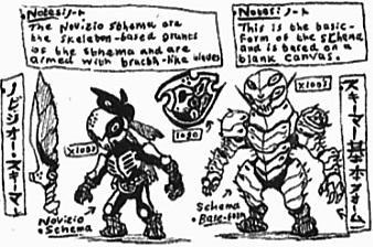 [Kaijin-Doodles] Schema02 by Kainsword-Kaijin