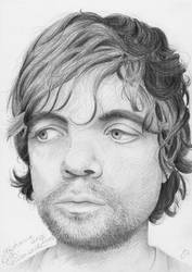 Peter Dinklage portrait by Sillageuse