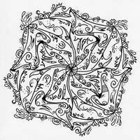 Zentangle #001 by Sillageuse