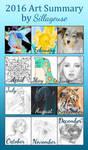 2016 Summary of Art by Sillageuse