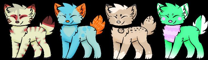 Chibi Adopts [ 3/4 OPEN ] by tinyspook