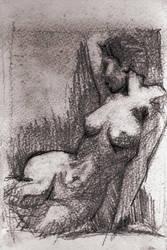 Nude in charcoal RGB by Samstudioworks