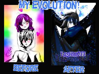 (Evolution) ~ Maybe  ?? by Yashin077