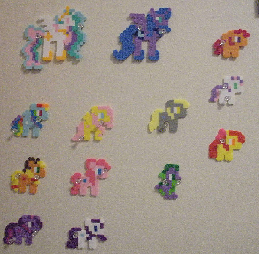 My Little Pony Perler Beads Full By Fearless Leo On Deviantart