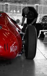 Old red formula 1 by Poppy-CZ