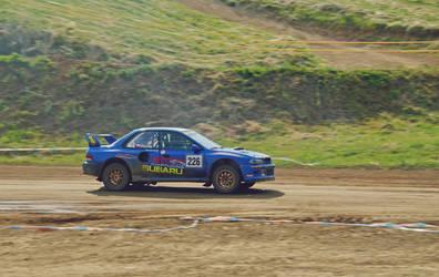 subaru impreza - rallycross by Poppy-CZ