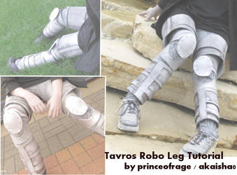 Tavros Robo Leg Tutorial by PrinceOfRage