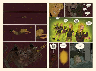 Witch Gauntlet page 1 and 2 by burnay