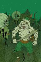 Sabertooth Swordsman by burnay