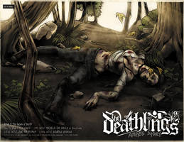 Deathlings 0 final Spread by MichelaDaSacco