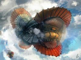 Airship by Scarlia